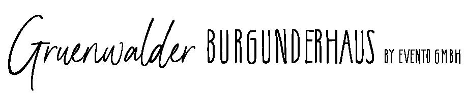Grünwalder Burgunderhaus Logo