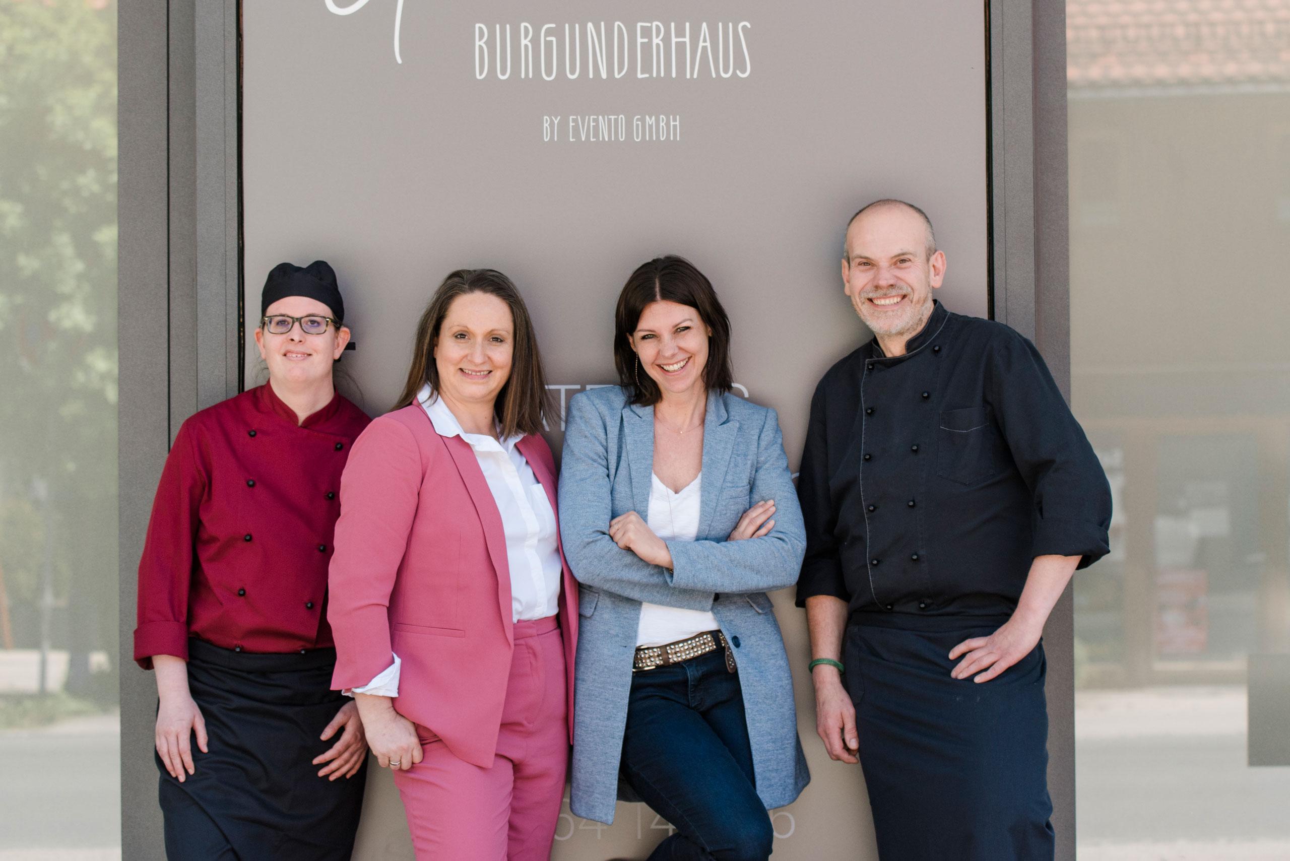 Team des Grünwalder Burgunderhaus